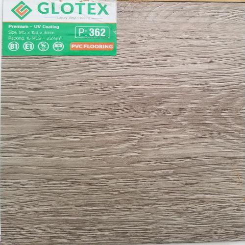 Sàn nhựa dán keo 3mm Glotex - 362