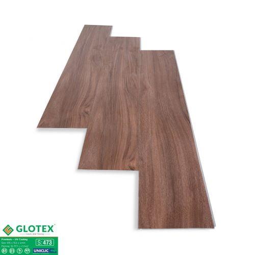 Sàn nhựa hèm khóa 4mm Glotex - 473
