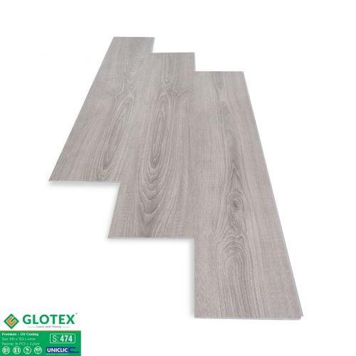 Sàn nhựa hèm khóa 4mm Glotex - 474